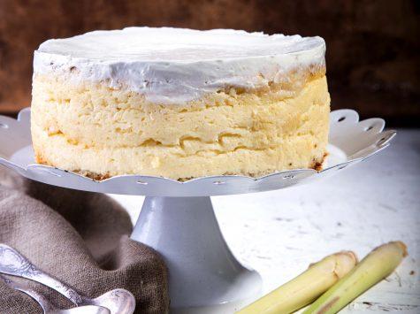 עוגת גבינה ולמון גראס