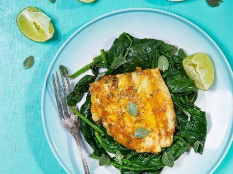 דג ים בתרד, עגבניות ושורש כורכום